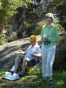 Hank Sands and Barbara Julian