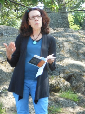 Susan McCaslin reading from her BC Book Prize nomination Demeter Goes Skydiving