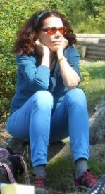 Susan McCaslin, listening hard