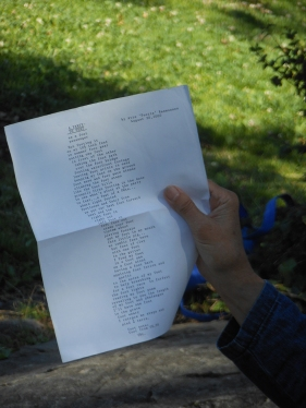 Avis's illustration and poem